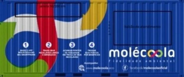 Foto de container da Molecoola