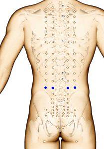 points acupuncture mal de dos