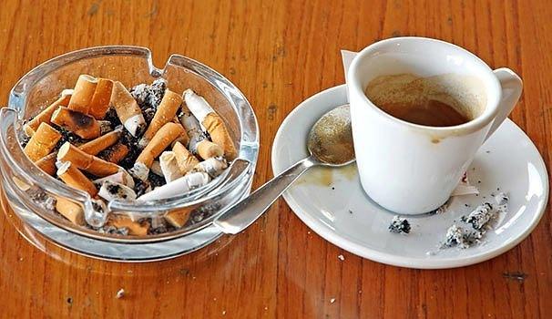 La cigarette du matin