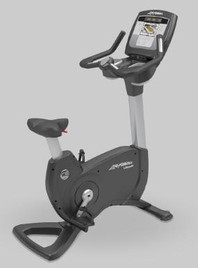 Upright bike workout machine