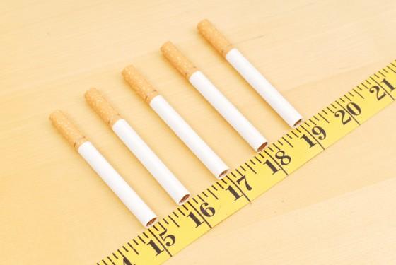 Grossir en arrêtant de fumer