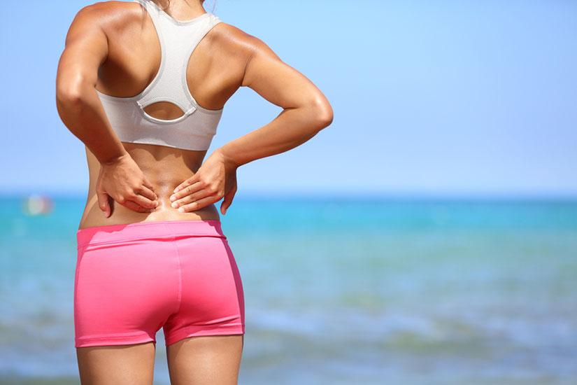 sport et mal au dos