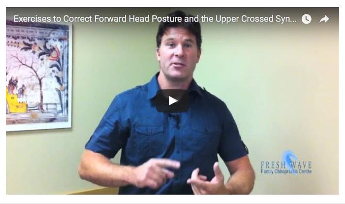 forward head posture stretch video