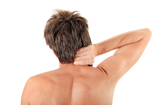Neck pain relief stretch: deep suboccipital rotation