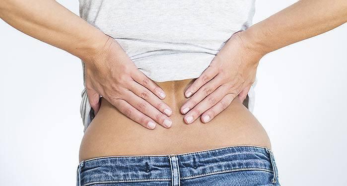 Lumbago & douleur lombaire (bas du dos)