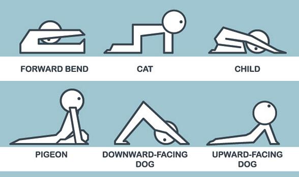 Bien connu Yoga pour le mal de dos: 6 postures Yoga qui font du bien à votre dos. VO03