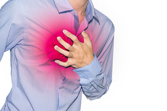 chest pain, stress & anxiety