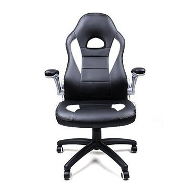 fauteuil bureau racing sport songmics