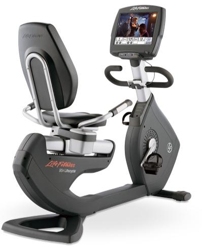 Vélo allongé entrainement cardio