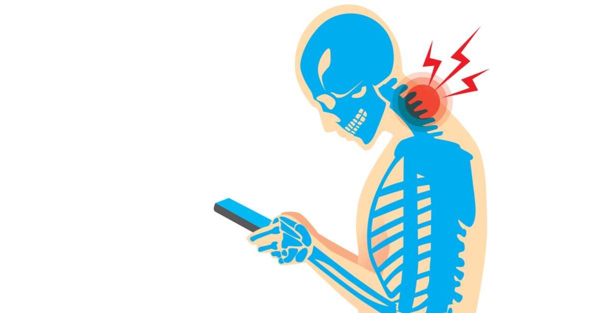 smartphone douleurs cervicales