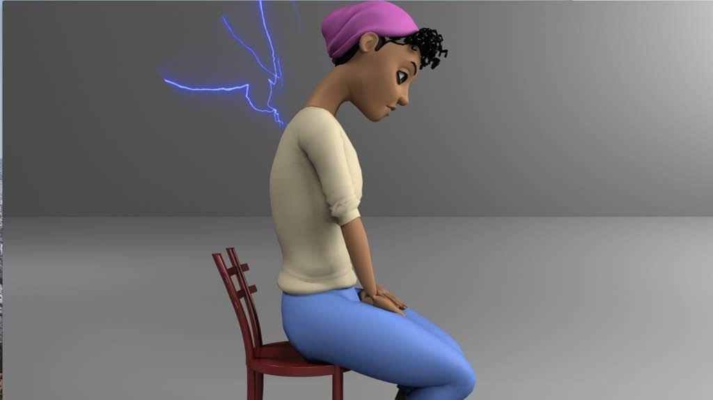 Pour soulager le haut du dos il faut commencer par soigner sa posture lorsqu'on est assis