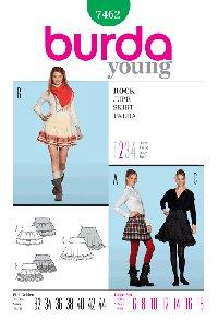 Burda Skirt - Pattern #7462 Rock Skirt
