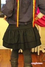 Burda Skirt - Back