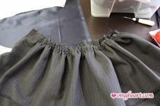 Burda Skirt - Gather Try #1 Machine Baste