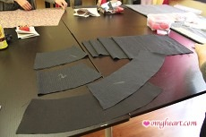 Burda Skirt - Pieces
