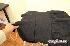 Burda Skirt - Attaching Final Waist