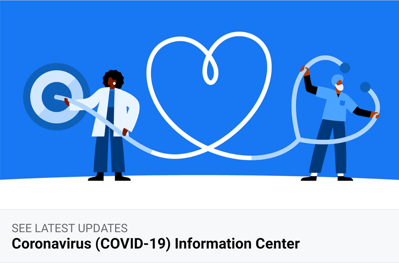 Facebook Coronavirus Information Center