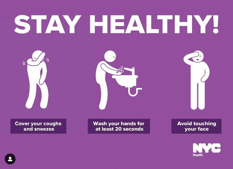 PSA: NYC + Coronavirus Support