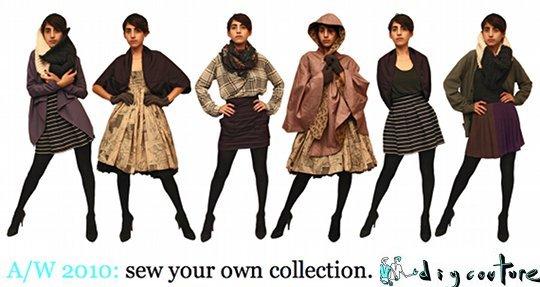 DIY Couture Autumn/Winter 2010