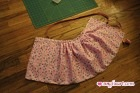 Pleated Skirt - Pinned Pleats