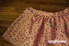 Pleated Skirt - Side Detail