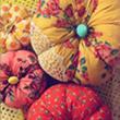 Design*Sponge Fabric Pumpkins