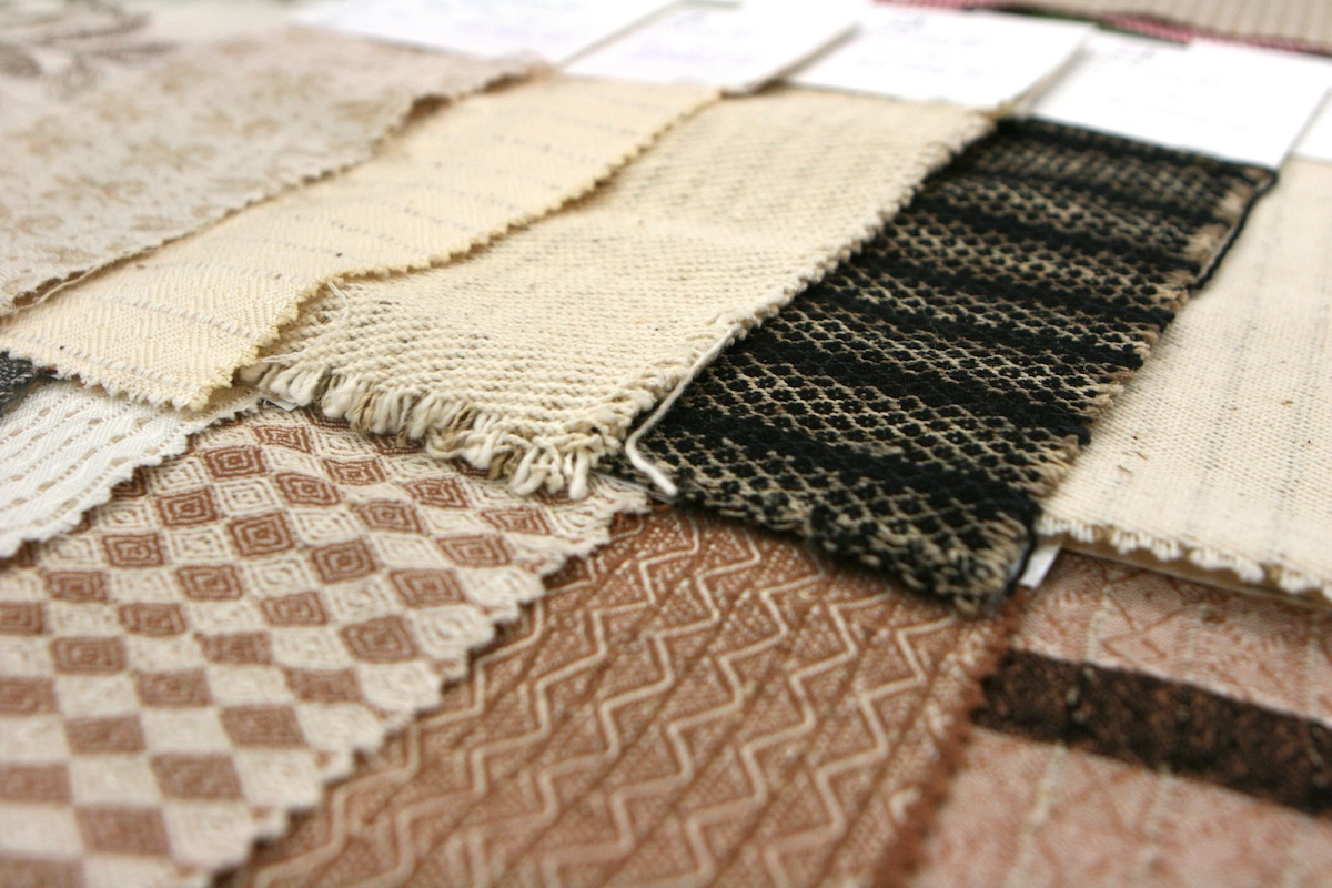 Fibers made from wild nettle, soybean, jute, and more from Pickering Natural