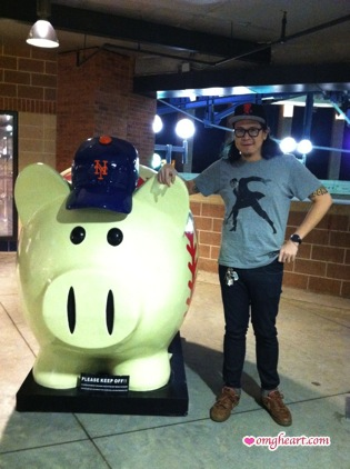 Craigston Yip III Esq. @ The Mets at Citi Field for Stitch n Pitch 2012,