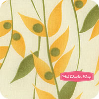 Happy Daisy Yellow Bamboozle by Chloe's Closet for Moda Fabrics