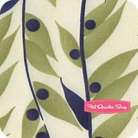 Happy Daisy Green Bamboozle by Chloe's Closet for Moda Fabrics