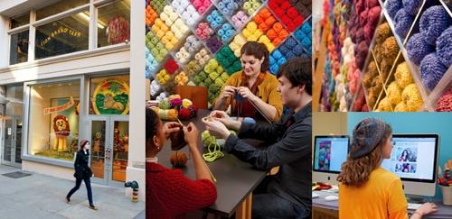 My Fave LYS: Lion Brand Yarn Studio