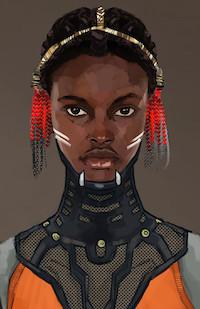 Shuri Closeup by Phillip Boutte Jr.