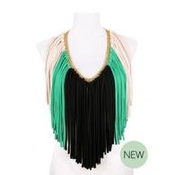 Fado Textile Necklace by Saako