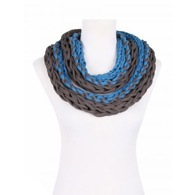 Pure Textile Necklace by Saako