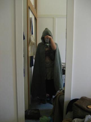 Knitted Hobbit Cloak