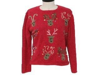 Ugly Christmas Sweaters - Reindeer