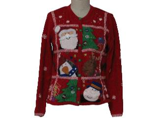 Ugly Christmas Sweaters - Santas