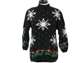 Ugly Christmas Sweaters - Snowflakes