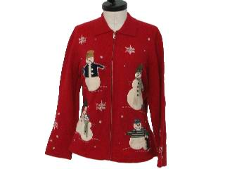 Ugly Christmas Sweaters - Snowmen