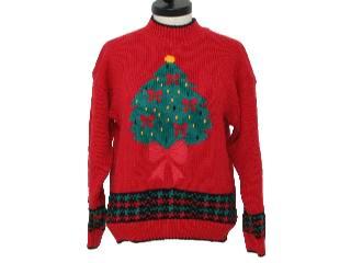 Ugly Christmas Sweaters - Xmas Trees