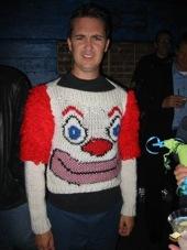 Clown Sweater via Wil Wheaton