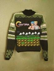 Contra Sweater via Nerd Nirvana