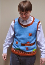Super Mario Sweater by Happy Seamstress