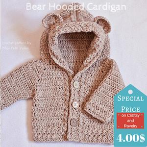 Bear Hoodie by Vita Apala
