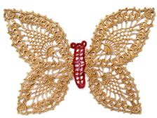 Crochet Butterfly 7003