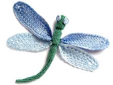 Crochet Butterfly 7005