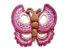 Crochet Butterfly 7006