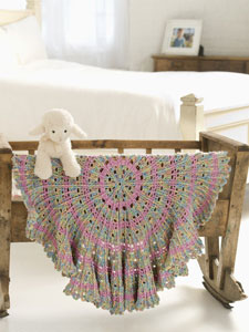 Candy Cable Blanket