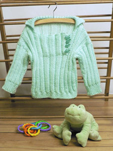 Ribbed Toddler Pullover