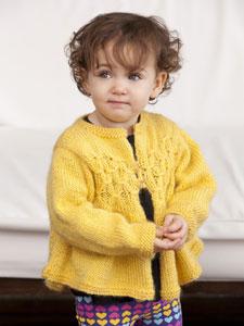 Swiss Miss Toddler Cardi